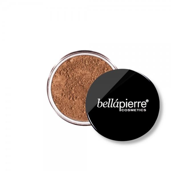 Bellapierre МИНЕРАЛЕН ФОН ДЬО ТЕН НА ПРАХ 009 CHOCOLATE TRUFFLE + ПОДАРЪК ЧЕТКА ЗА ПУДРА