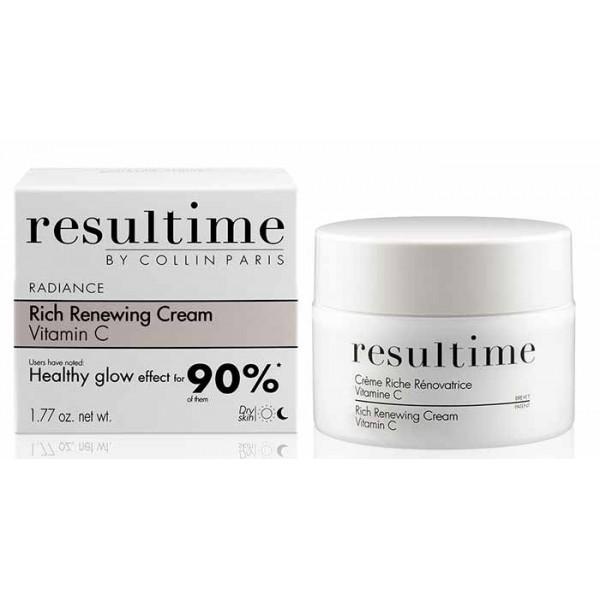 Collin Resultime Обновяващ и просветляващ крем с витамин С за суха кожа