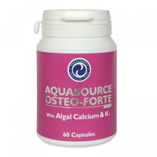 Аквасорс Остео-Форте /AquaSource Osteo-Forte with Algal Calcium & K2/