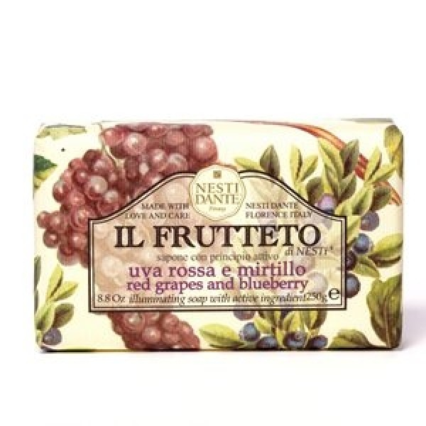 NESTI DANTE Натурален сапун IL FRUTTETO Червено грозде и Боровинка