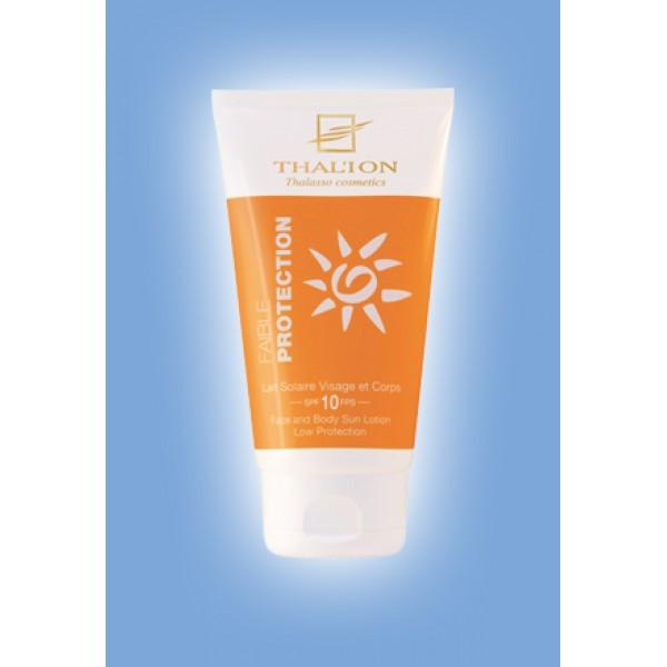 Thal'ion - Слънцезащитен лосион за лице и тяло SPF10.