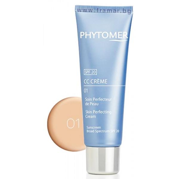 PHYTOMER  CC Крем за сияйна кожа светъл цвят Cc Crème Skin Perfecting 01 50мл