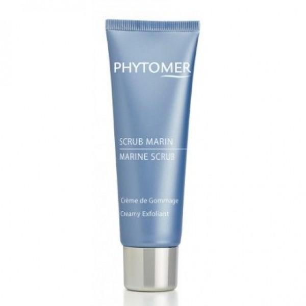 Phytomer  Морски скраб за лице с черен пясък Phytomer Marine Scrub Creamy Exfoliant 50ml