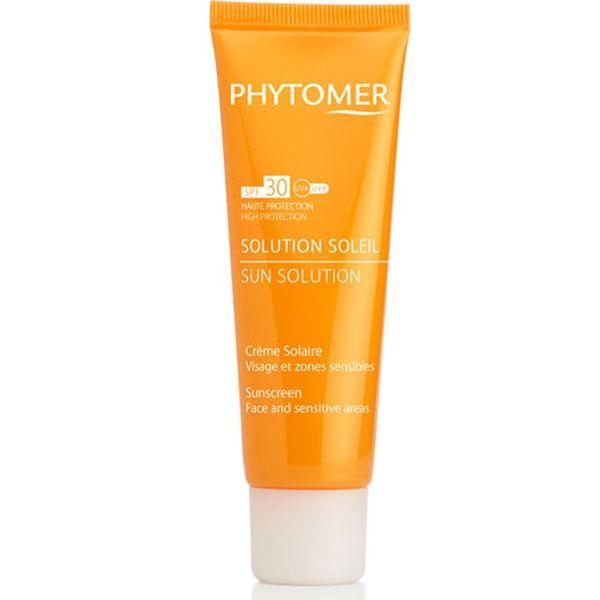 Phytomer  Слънцезащитен крем за лице и тяло SPF 15 Phytomer Sun Solution Sunscreen Face & Body 125ml
