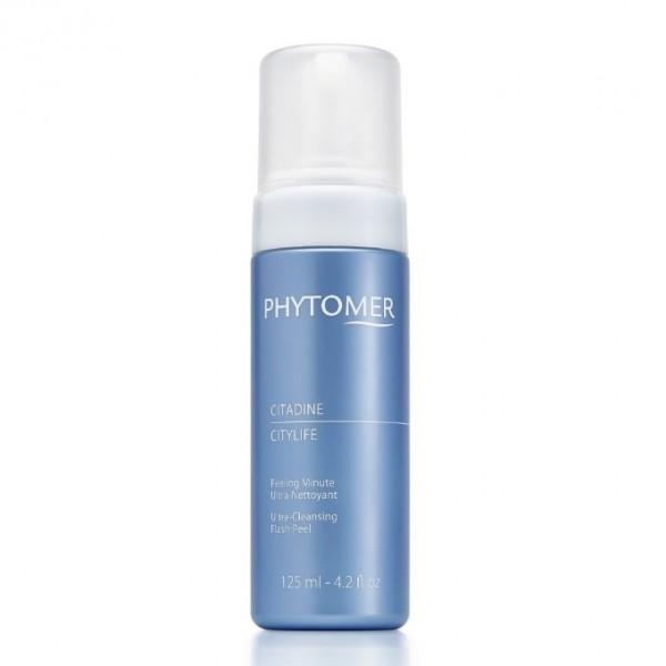 Phytomer  Дълбоко почистваща пяна за лице - щит при градски условия Phytomer Citylife Ultra Cleansing Flash Peel 125ml
