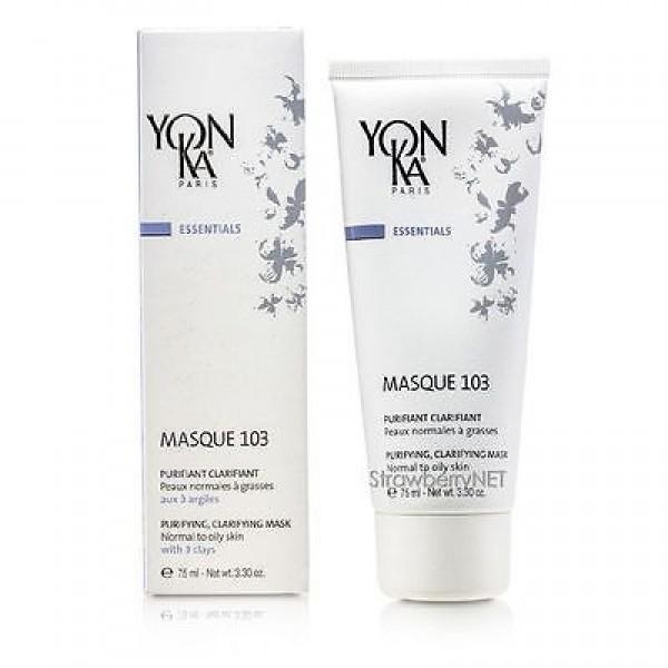 Yon Ka  Почистваща и изсветляваща маска за нормална към мазна кожа Yon-ka Masque 103 75ml