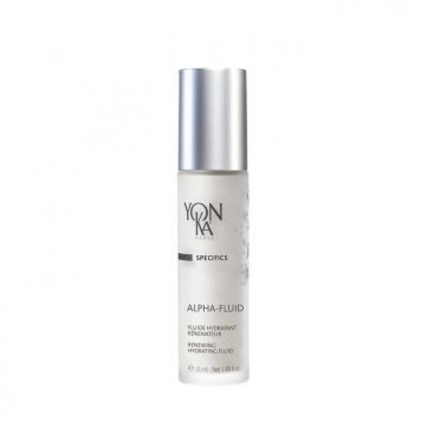 Yon Ka  Подновяващ хидратиращ флуид с АНА за суха и чувствителна кожа Yon-Ka Alpha Fluid 50ml