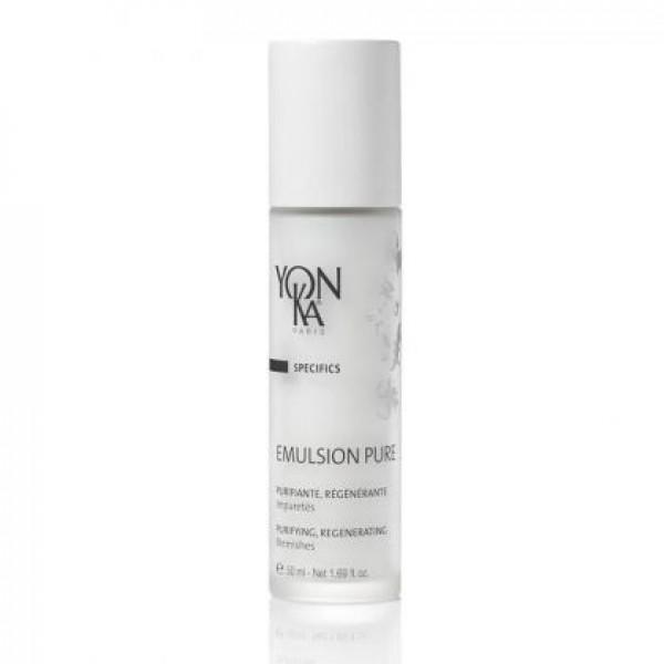 Yon - Ka  Концентрирана емулсия с 5 етерични масла за проблемна кожа с обриви и петна Yon-Ka - EMULSION PURE 50 мл.
